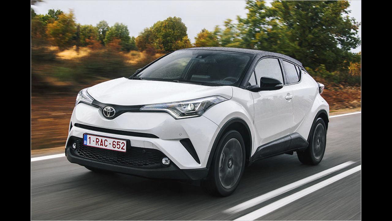 Top: Toyota C-HR
