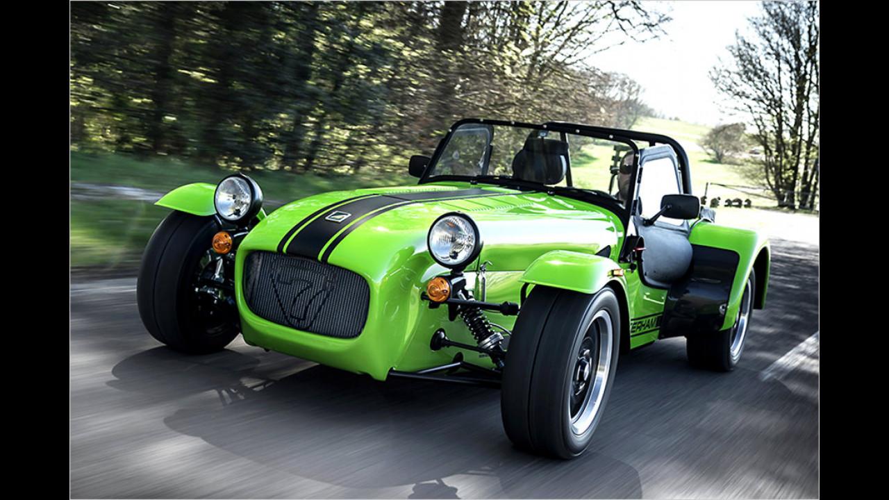 Der Roadster-Freak: Caterham Seven