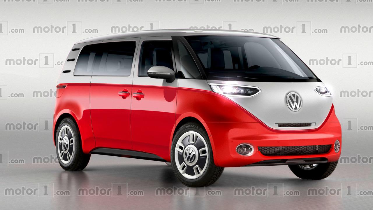 Volkswagen Bulli rendering