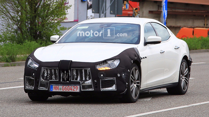 Maserati Ghibli Spy Photos Reveal Tweaks Ahead Of Frankfurt Debut