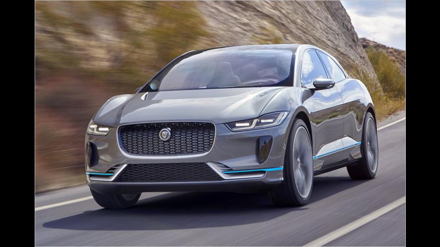 I-Pace: Der erste vollelektrische Jaguar kommt