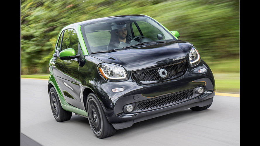 Smart Fortwo Electric Drive (2016) im Test