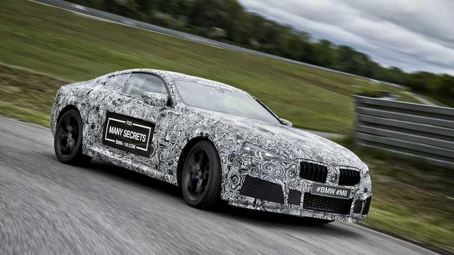 BMW M8 camuflado e já em testes
