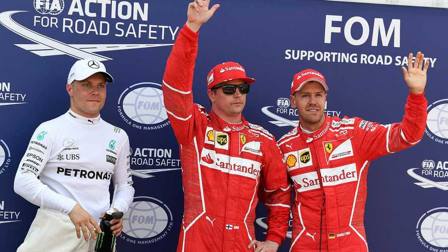 Pole para Raikkonen 9 años después; drama para Hamilton
