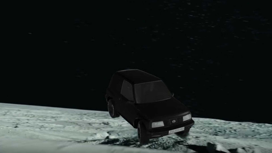 Epic Ad For Used Suzuki Vitara Has Dinosaurs, Space
