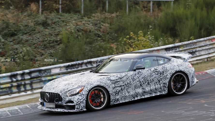 Nouvelle apparition de la Mercedes-AMG GT R Clubsport