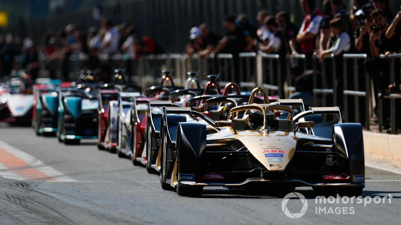 Andre Lotterer Formula E pre-season testing Valencia Spain
