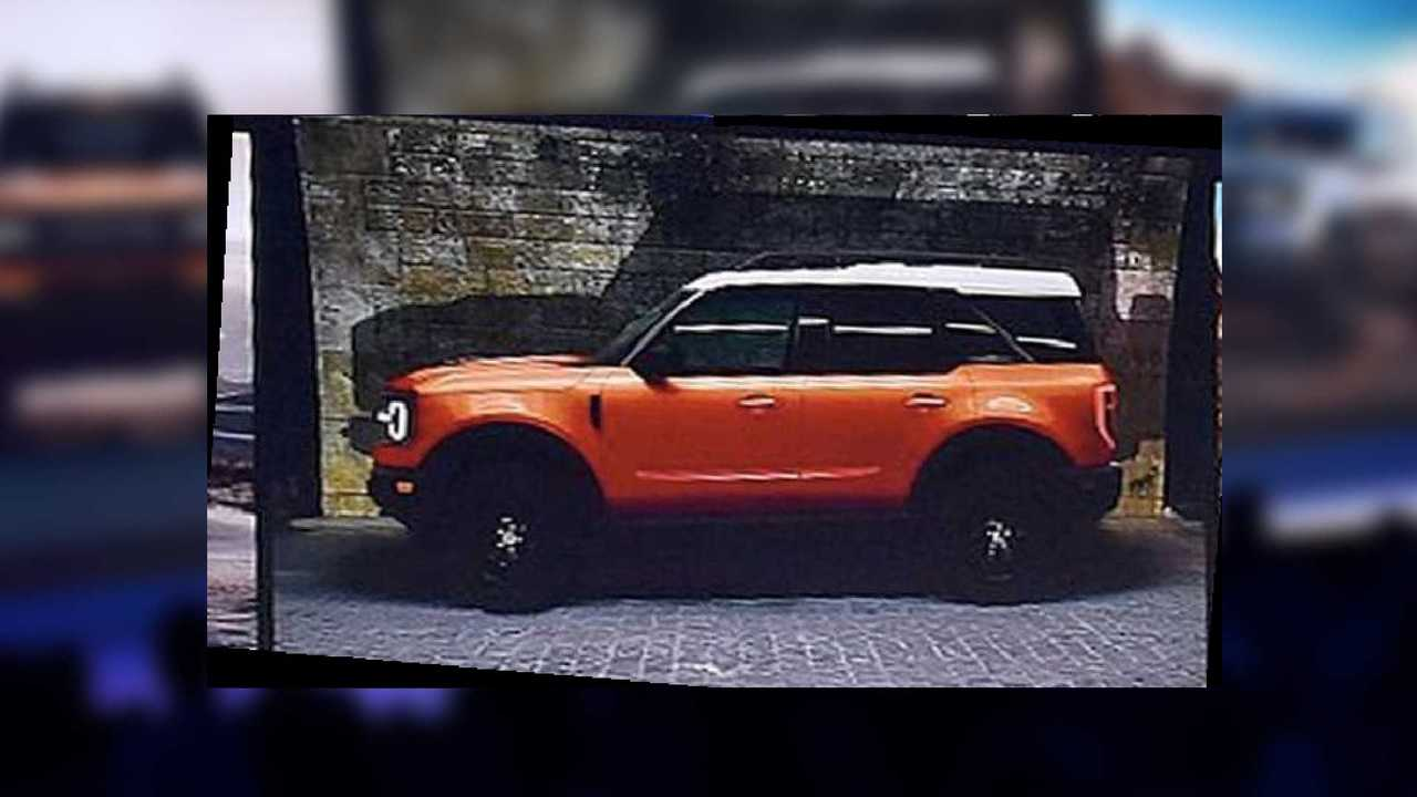 Ford Bronco shadow teaser