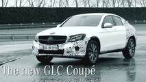 Teaser du Mercedes GLC Coupé