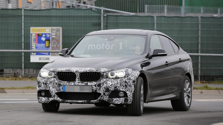 2017 BMW 3 Series GT facelift spied with light camo [33 pics]