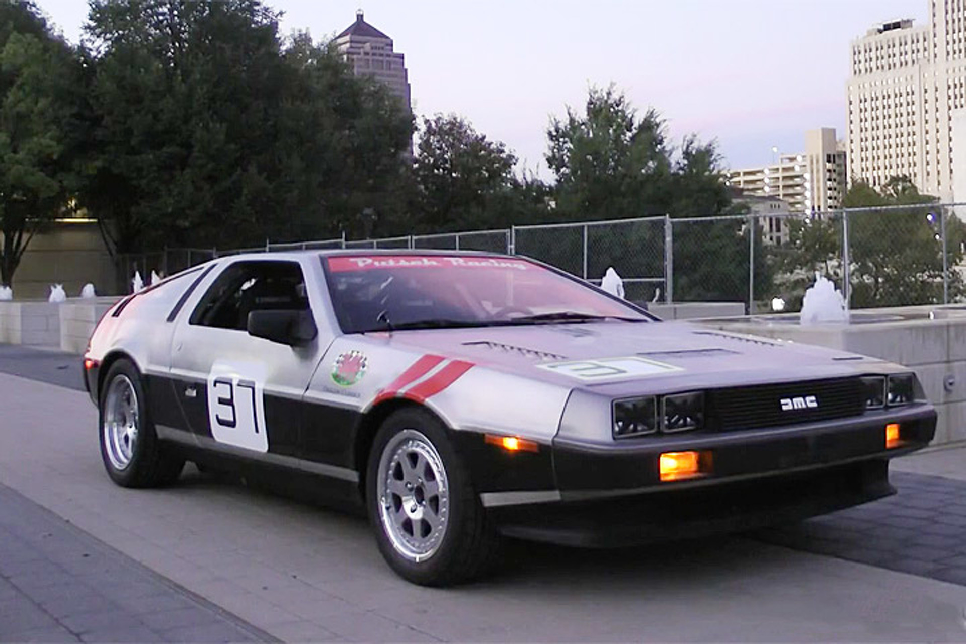 Watch This Racy DeLorean DMC-12 Spit Flames 1 of 1 | Motor1