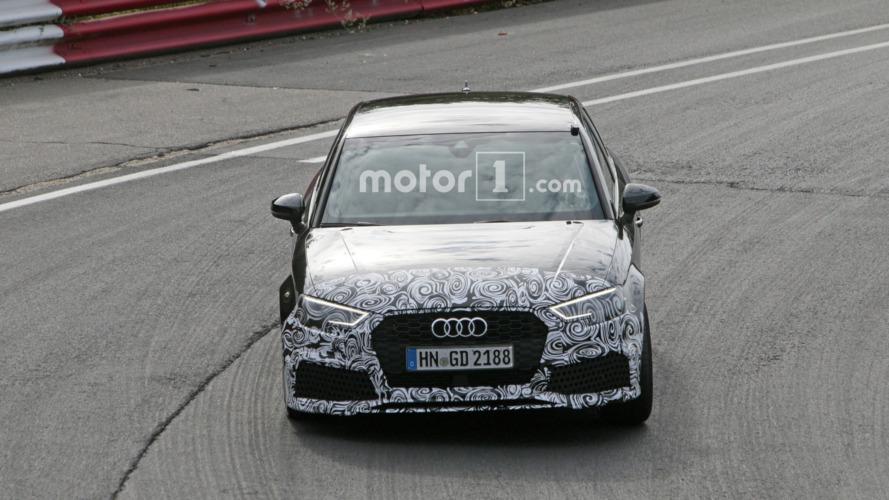 Audi RS3 Sedan casus fotoğrafları