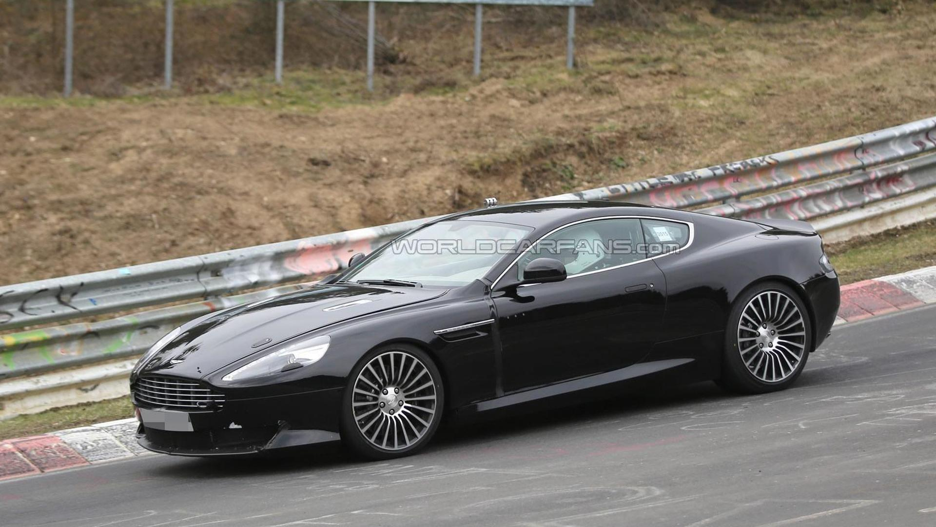 Aston Martin Db9 Successor Test Mule Spied For The First Time 22 Pics