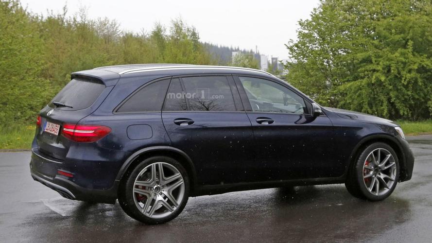 Mercedes-AMG GLC 63 casus fotoğrafları