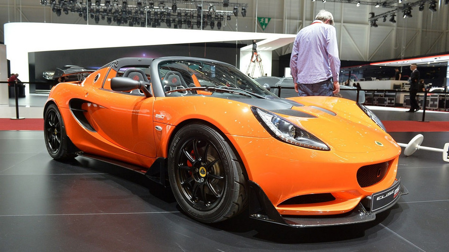 Lotus Elise Cup 250 drops by Geneva as fastest Elise ever