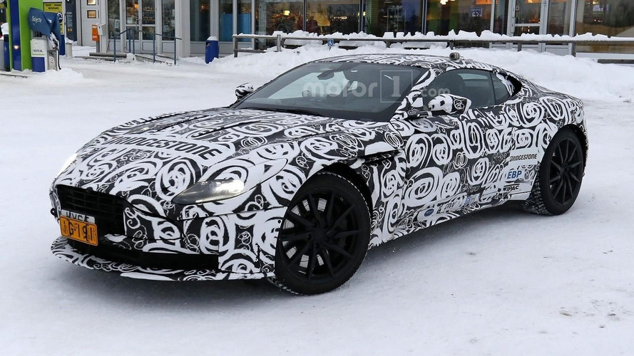 Aston Martin DB11 camo hides what we've seen already