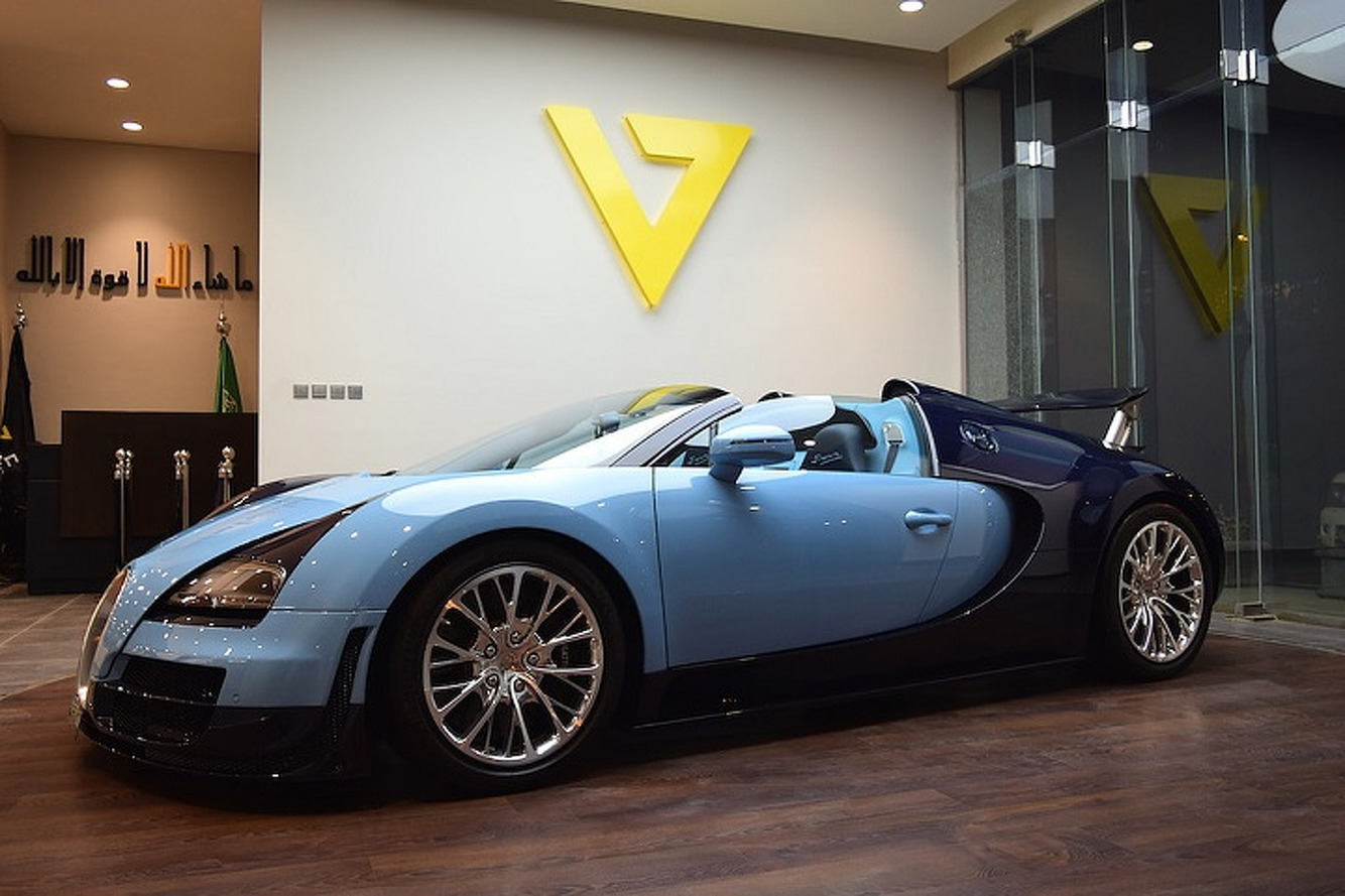 One-of-Three Bugatti Veyron Vitesse Hits the Used Market, Is Quickly Sold