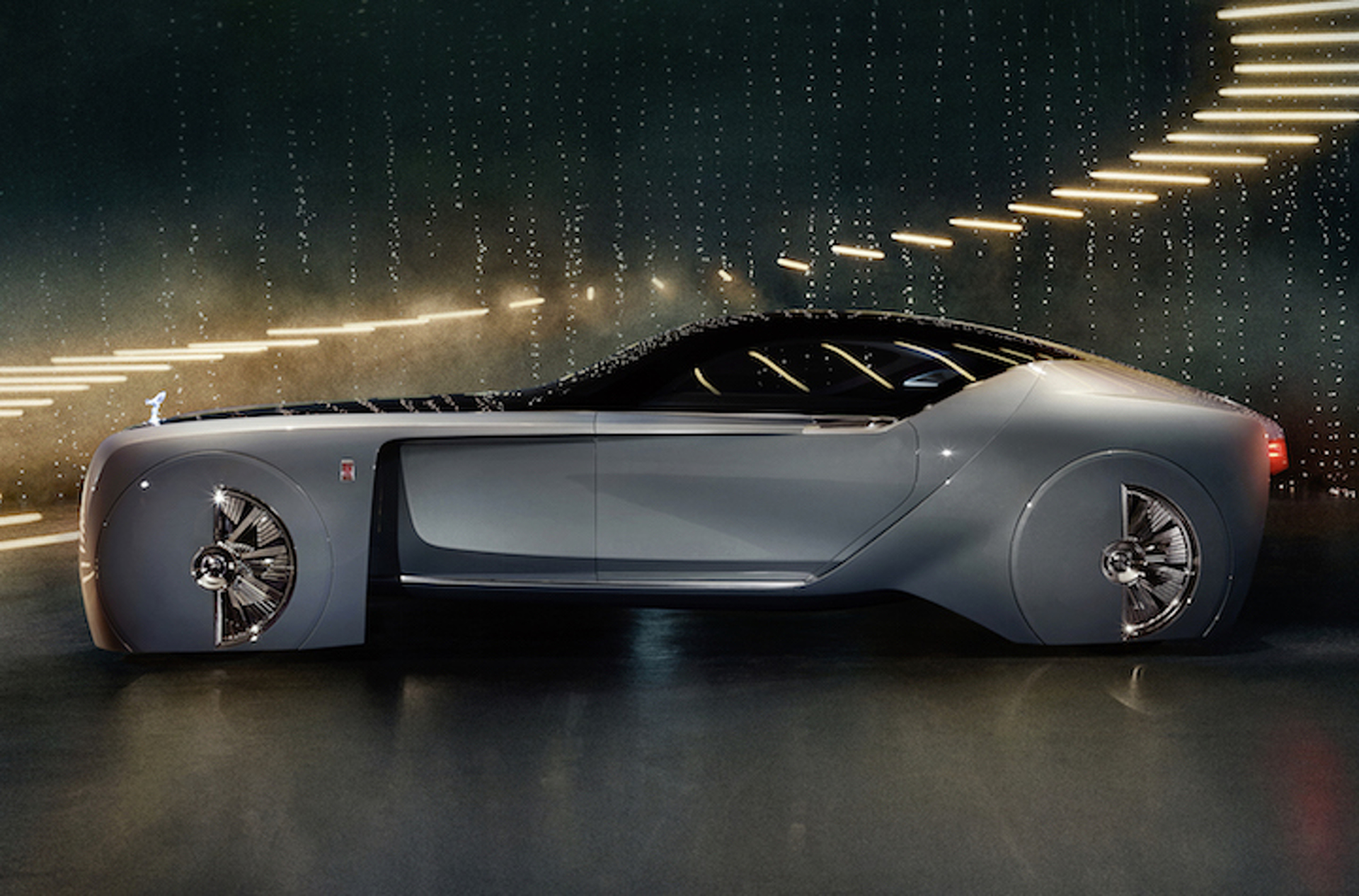 Rolls Royce Reveals Its Electric Luxury Car Of The Future Motor1 Photos