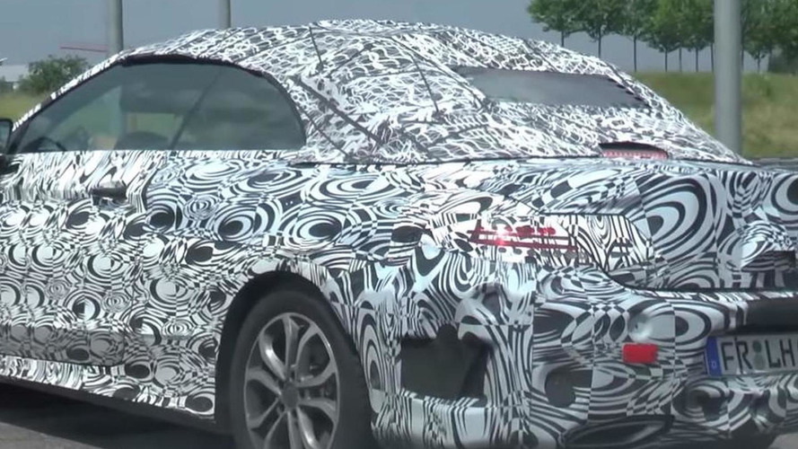 2016 Mercedes-Benz C-Class Cabriolet spied in AMG Line specification [video]
