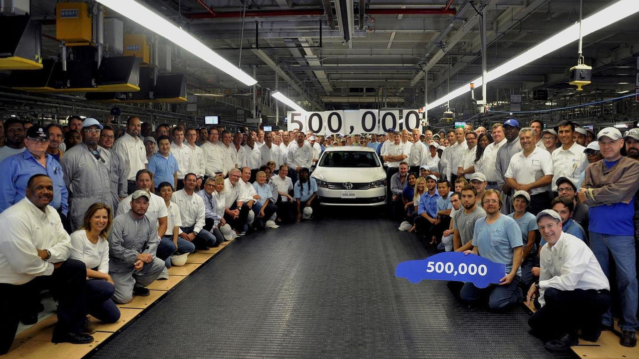 500,000th Volkswagen Passat to be built in Chattanooga, Tennessee