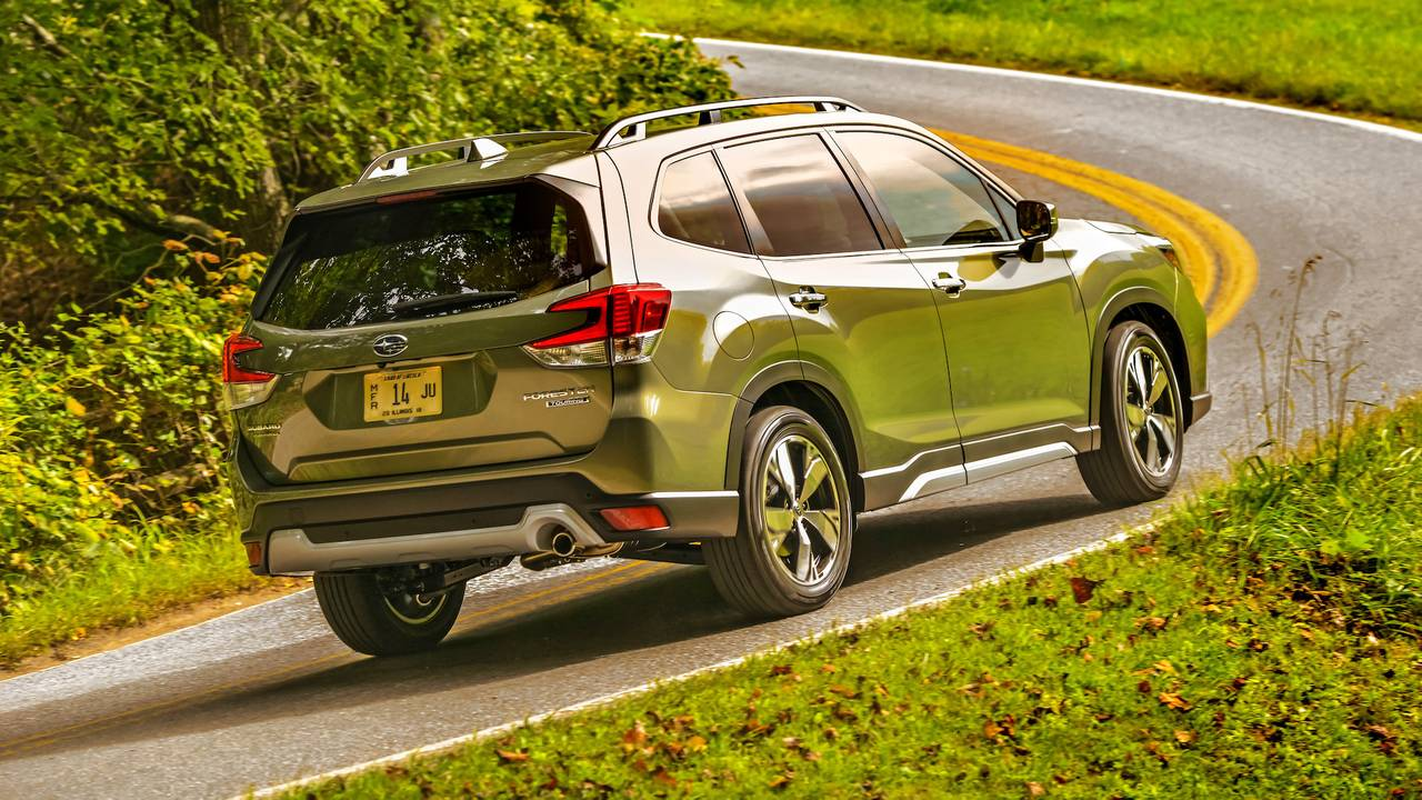 2019 Subaru Forester First Drive Same Forest New Trees