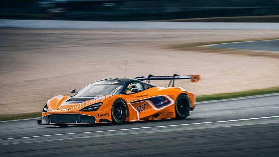 McLaren dévoile la version GT3 de sa 720S