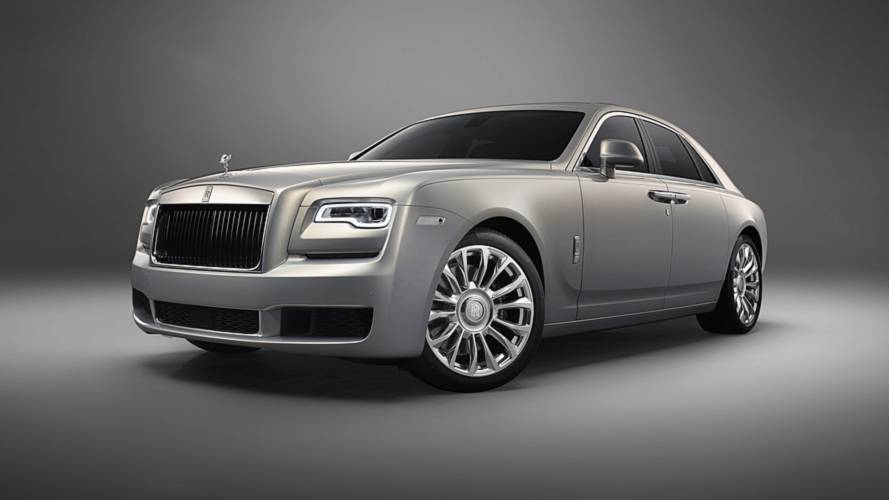 Rolls-Royce revives 'Silver Ghost' name with limited edition