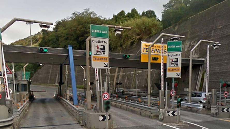 Autostrade per l'Italia sospende il pedaggio nell'area genovese