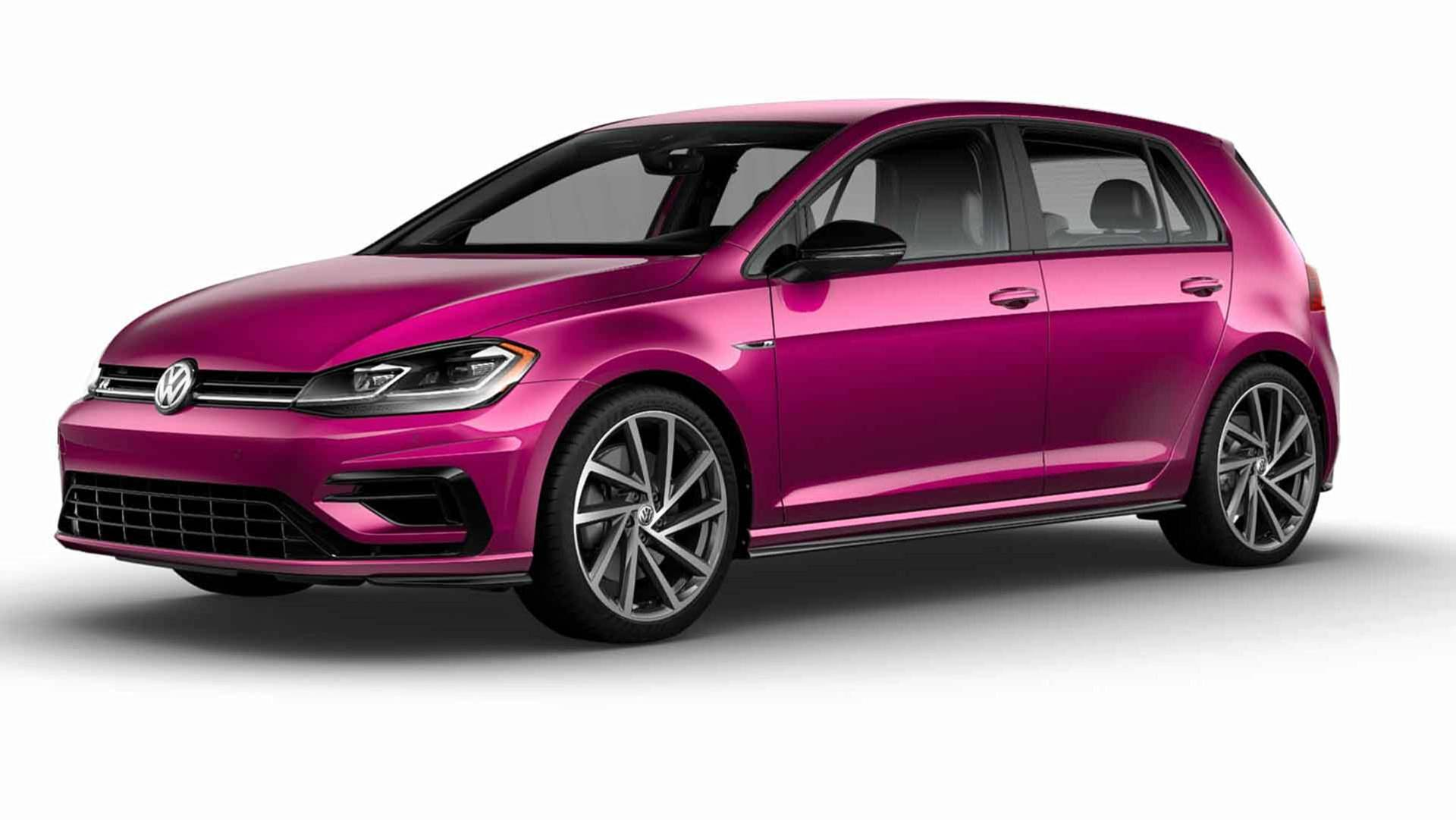 Vw Golf R Lets You Taste The Rainbow With 40 New Colors