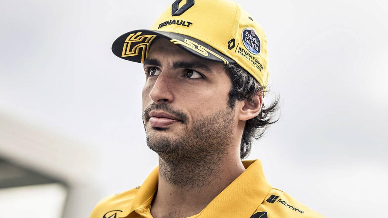 Carlos Sainz Jr French GP 2018