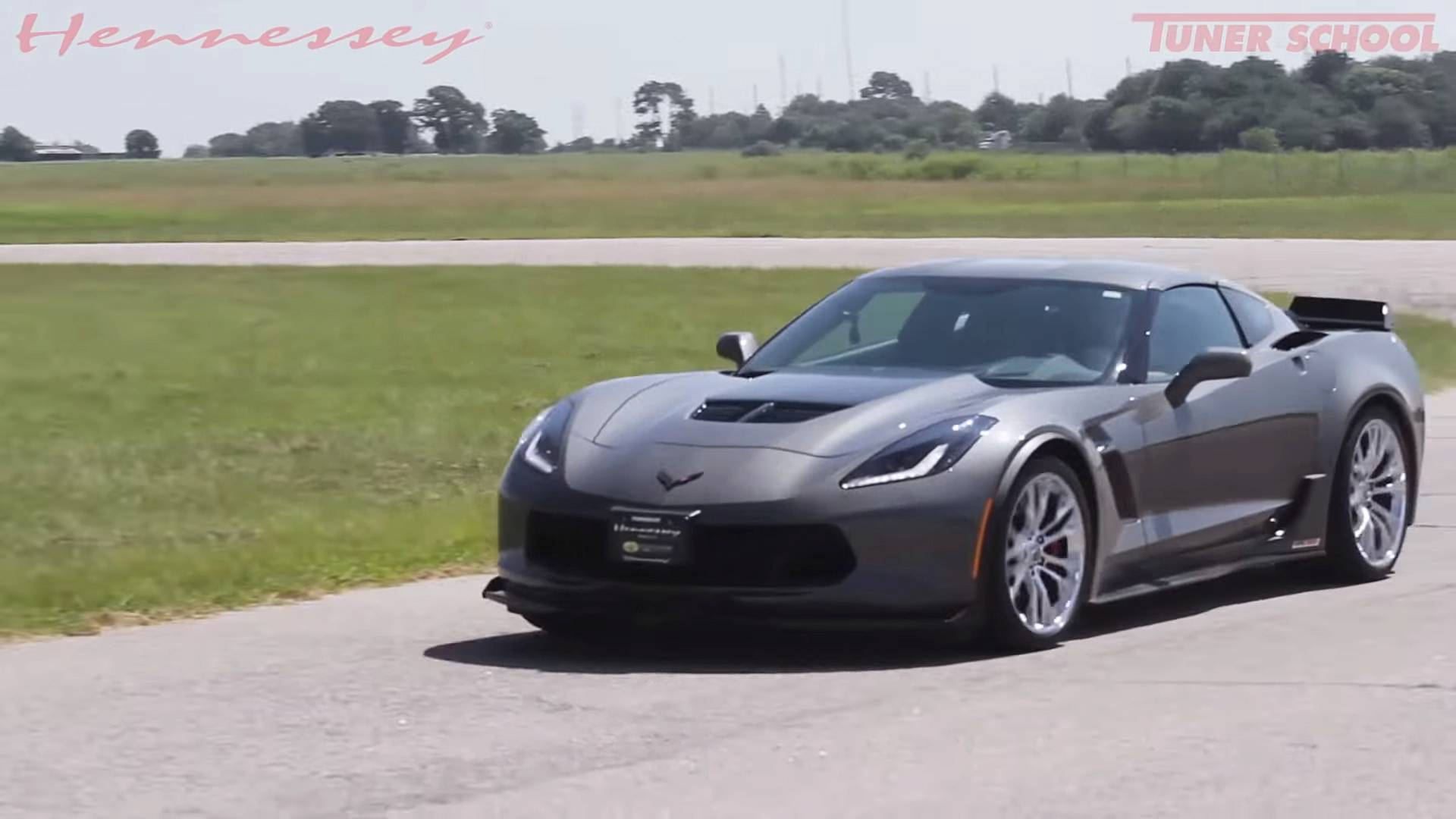 Hennessey Corvette Z06 Could Be The Best Sounding V8 Ever