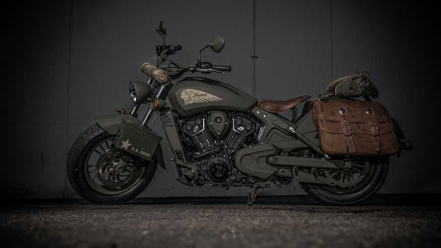 This Call Of Duty WWII Indian Scout Could Be Yours