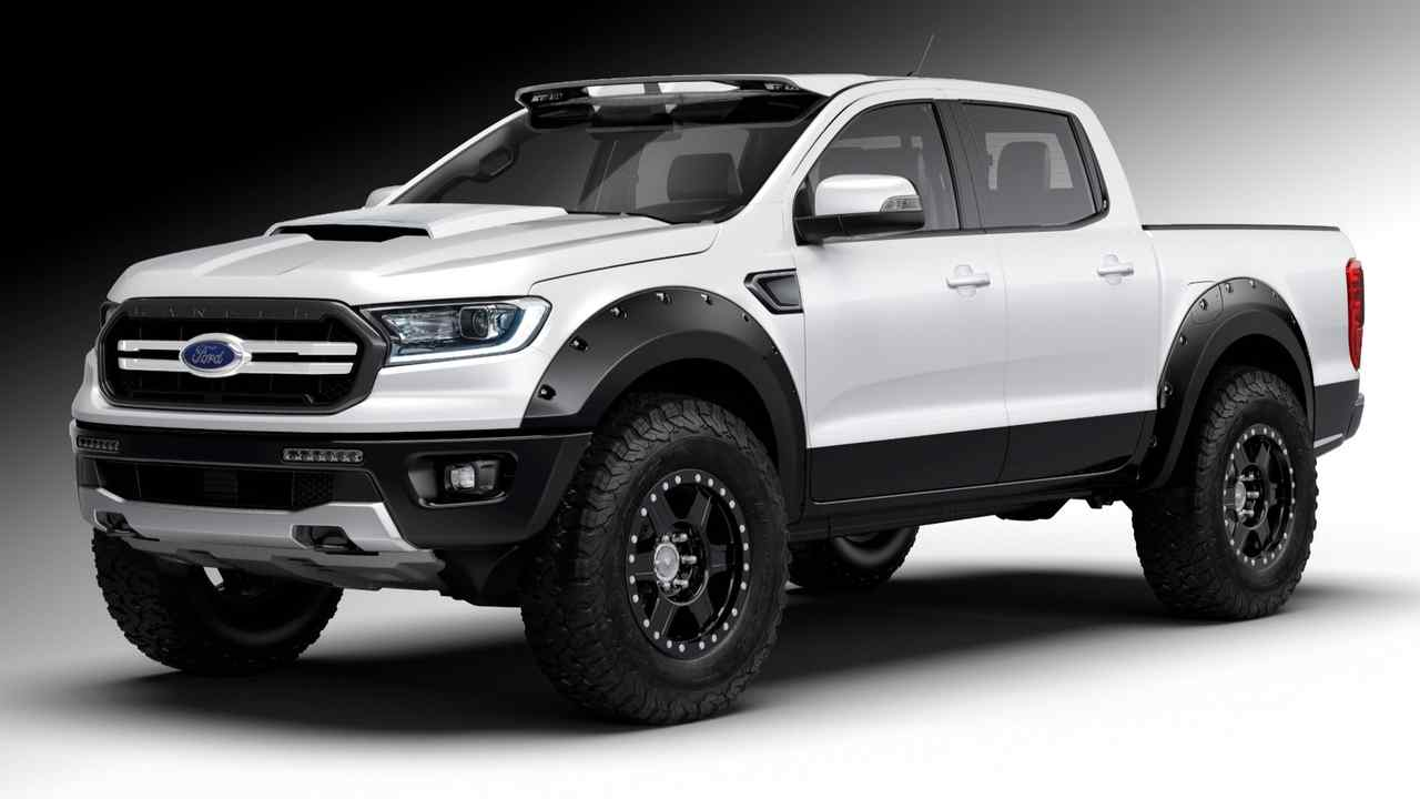 Ford Ranger XLT 4x4 SuperCrew por Air Design USA