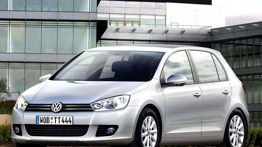 Volkswagen Golf VI Spied