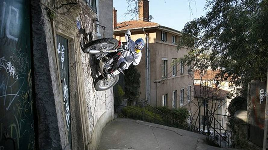 29 photos of motorcycles in impossible places