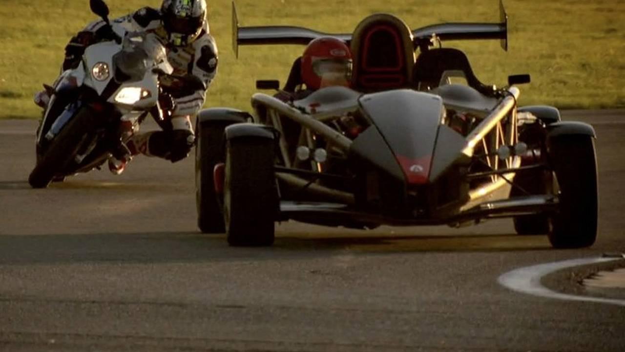 Top Gear pits BMW S1000RR vs Ariel Atom V8