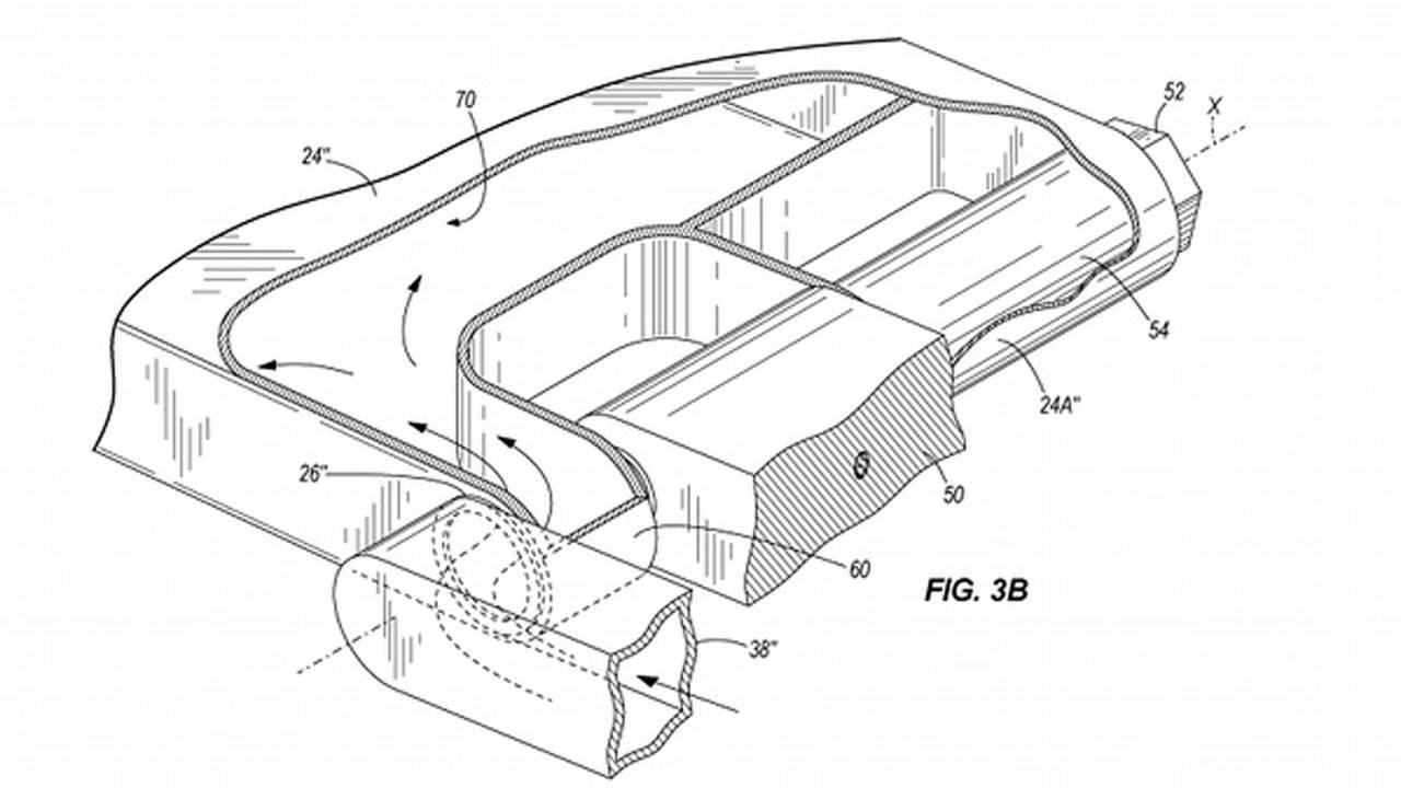 Erik Buell's latest patent combines exhaust, swingarm