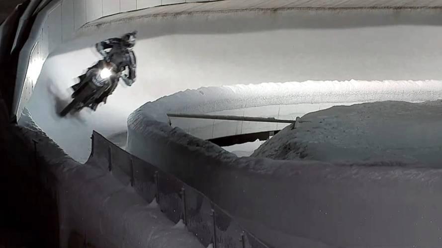 BMW G450X vs bobsleigh