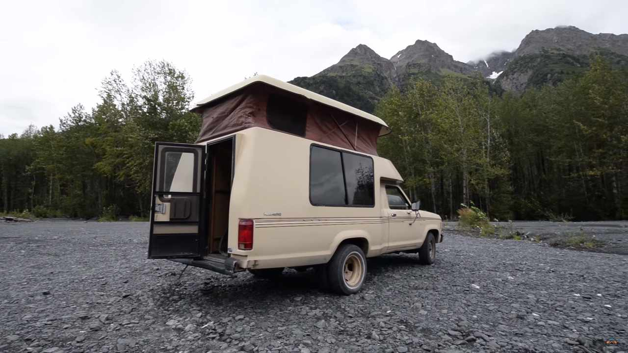 This Ford Ranger Roll A Long Camper Is The Compact Rv Time Forgot 1980 Conversion Van