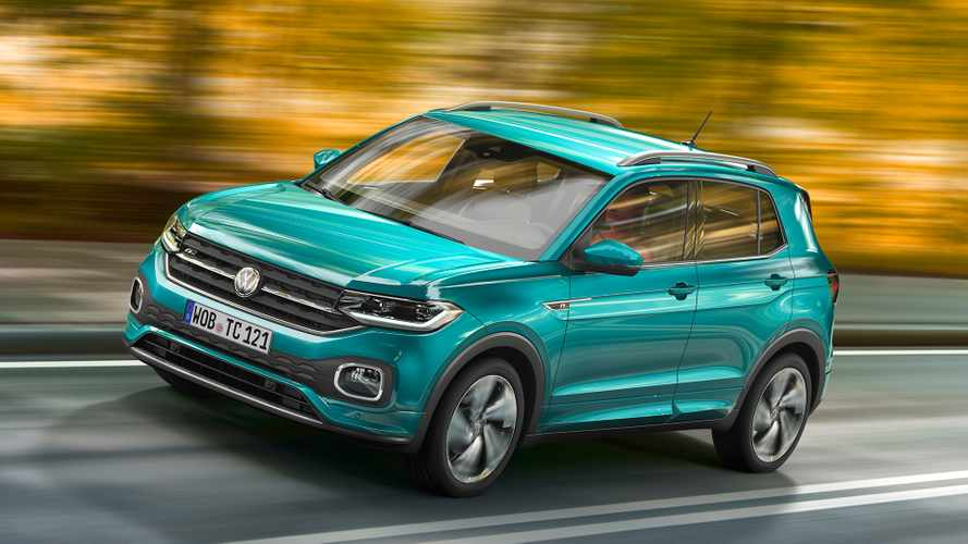 Tiny Volkswagen T-Cross SUV debuts in Europe