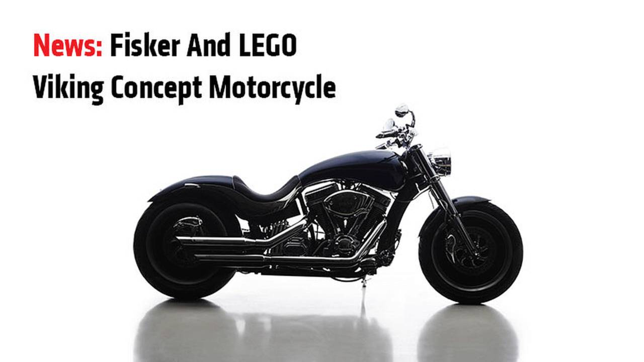 Fisker and LEGO Viking Concept motorcycle