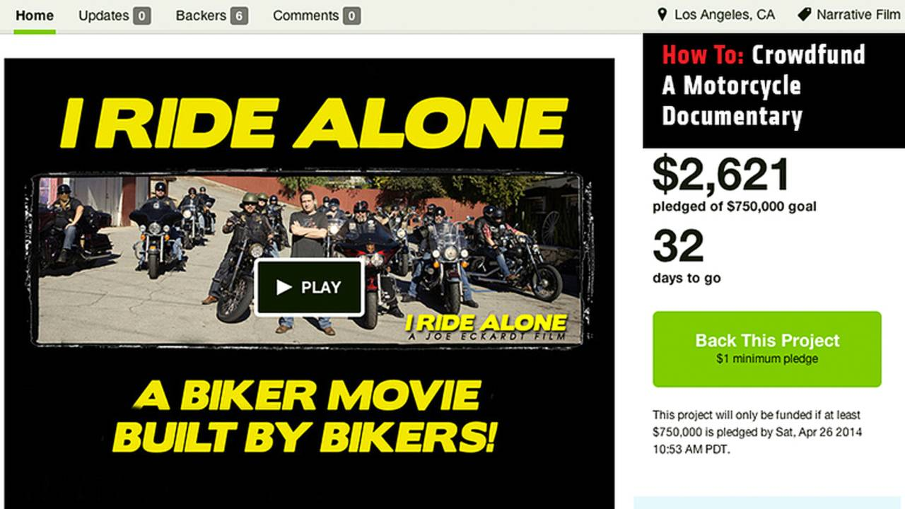 How To: Crowdfund A Motorcycle Documentary