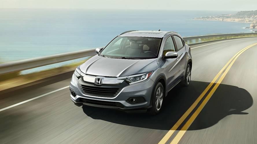 Honda HR-V 2019 chega aos EUA reestilizado e com painel digital