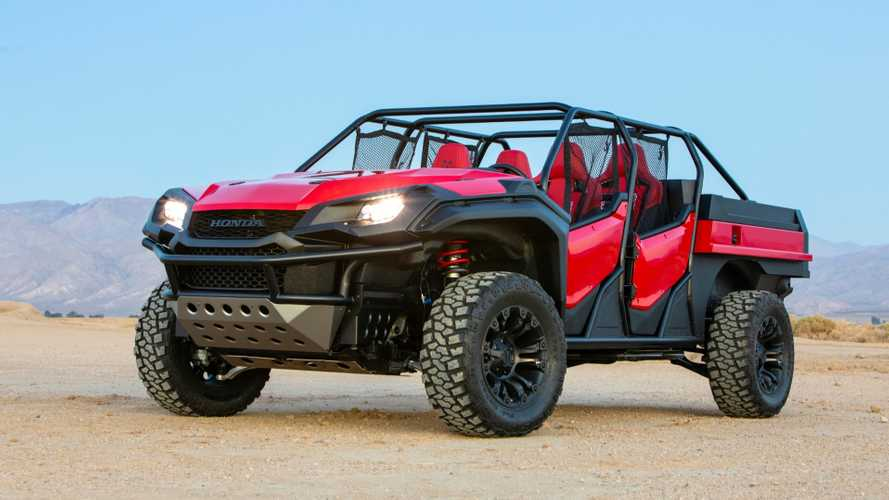 Honda Rugged Open Air Vehicle Concept