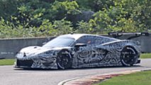 Mid-engine Corvette C8.R Race Car Spy Shots