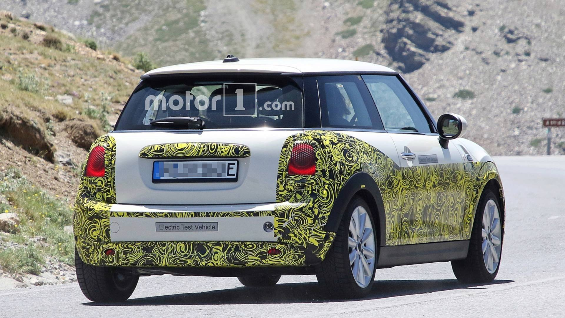 Electric Mini Spied On The Road Showing Off Revised Cabin