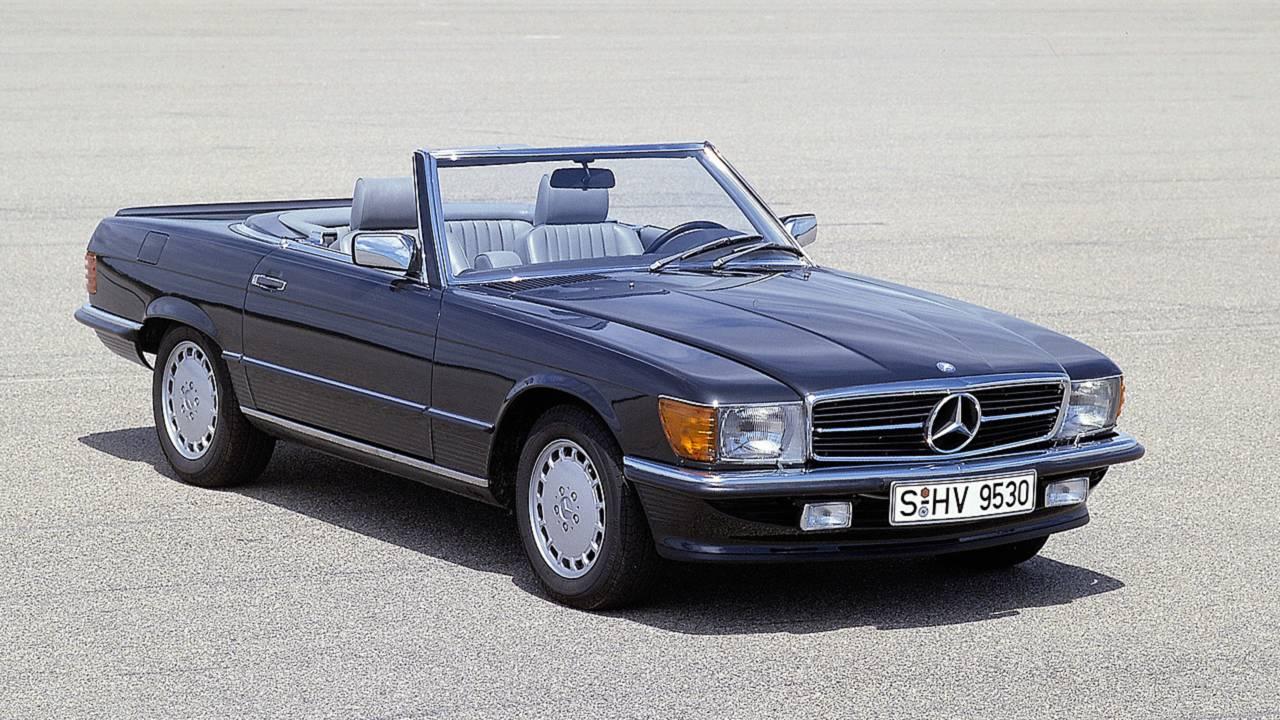Platz 10: Mercedes 560 SL