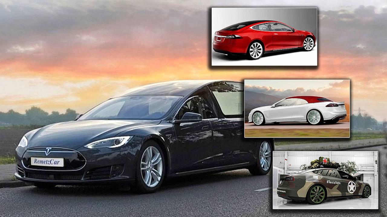 Tesla S Varianten