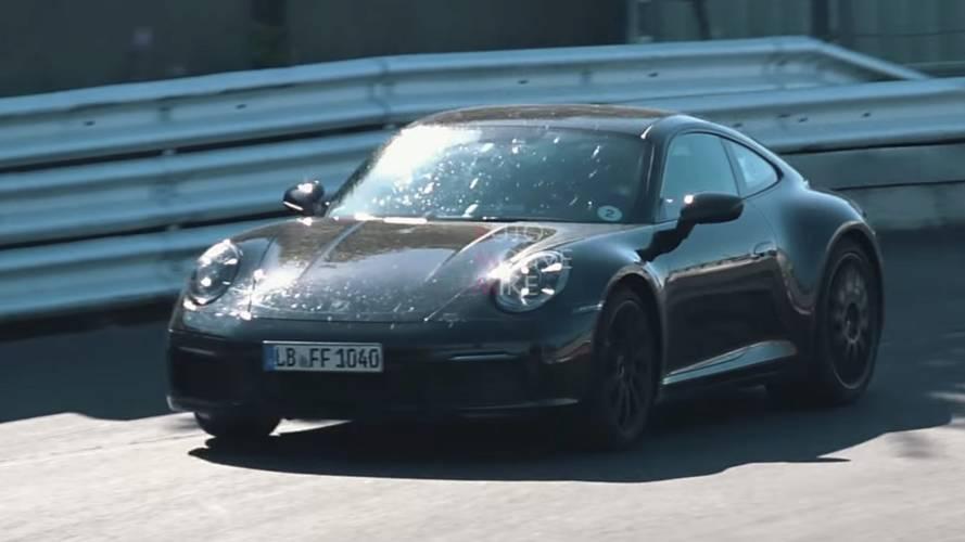 Porsche 911 prototipleri Nürburgring'de sınırları zorluyor