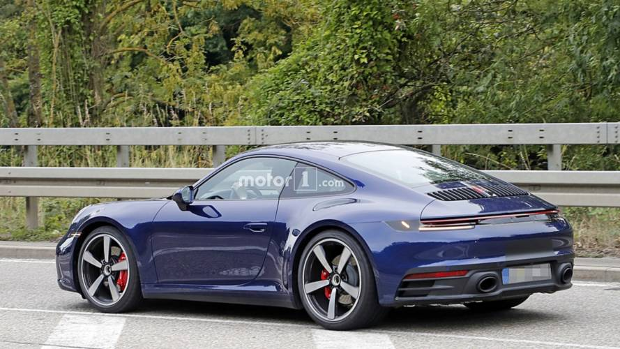 2019 Porsche 911 Red And Blue Duo Spotted Virtually